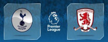 Match Preview: Spurs Vs Middlesborough