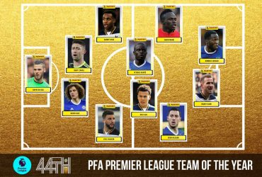 Spurs & Chelsea dominate PFA Team of the Year
