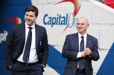 Spurs boss defends chairman's salary