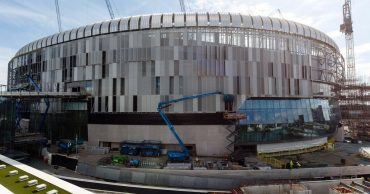 Spurs allowed run of away games to finish new stadium