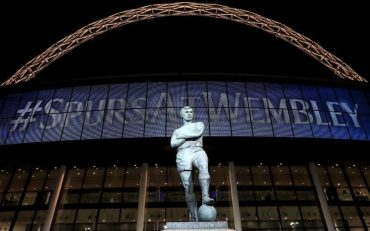"""Spurs face playing Manchester City on a """"beat up"""" Wembley pitch"""