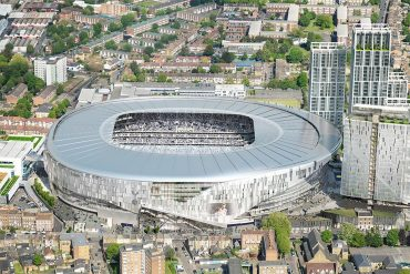 Spurs set for stadium milestone