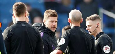 Pochettino charged with improper conduct