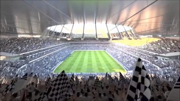 Tottenham's first game at their new stadium revealed