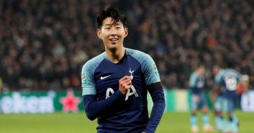 Son double sets up quarter-final clash with Arsenal