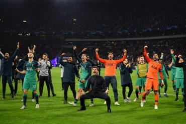 Spurs through to the Champions League Final!