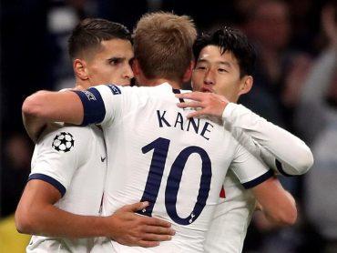 Spurs finally kick-start Champions League campaign