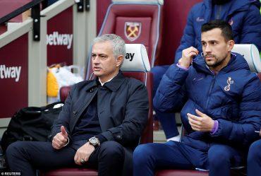 """Mourinho """"back where he belongs"""""""