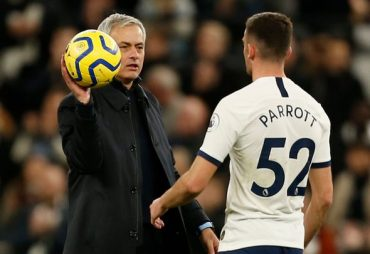 Tottenham boss Jose Mourinho must buck trend and throw in Troy Parrott