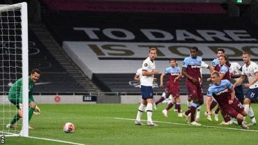 Spurs get back to winning ways with West Ham victory
