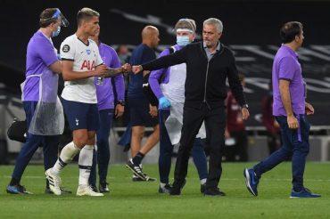 Lamela believes Spurs are on an upward curve under Mourinho