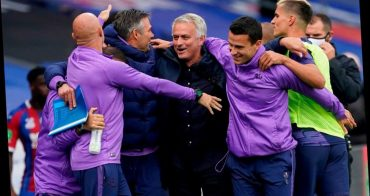 """Mourinho intends to get Spurs back """"where we belong"""" after qualifying for Europe"""