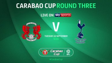 Spurs' Carabao Cup tie with Orient called off