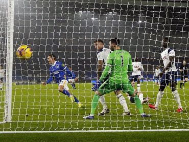 Spurs hand Brighton their first home win of the season