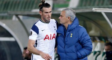 """Bale """"looks happier"""" than ever according to Mourinho"""