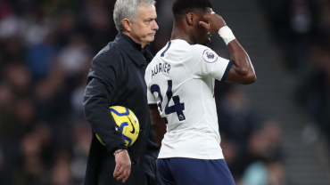 Aurier admits to having to bite his tongue after Mourinho criticism