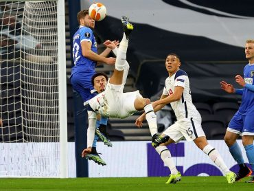 Dele scores superb overhead kick as Spurs cruise past Wolfsberger