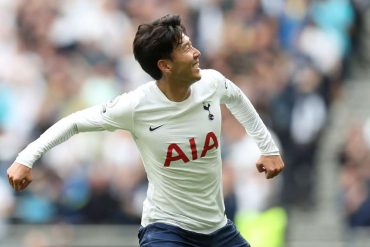 Son marks 200th league appearance with winning goal against Watford